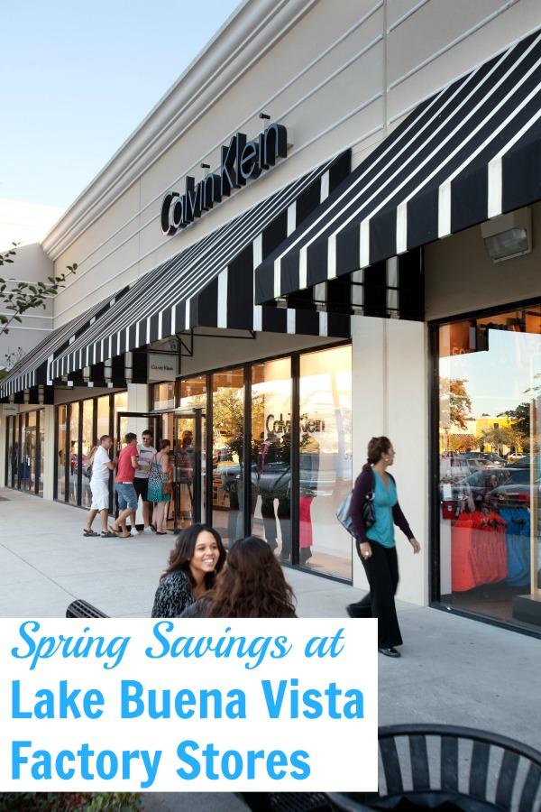 Spring savings lake Buena Vista factory stores