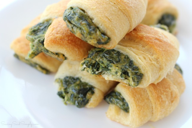 Best Spinach Appetizer Recipe | Mom's Spinach Crescents - A family recipe, taste tested, adult & kid approved. Delicious spinach bites for entertaining - Easy recipe for entertaining - #Recipe #Appetizer