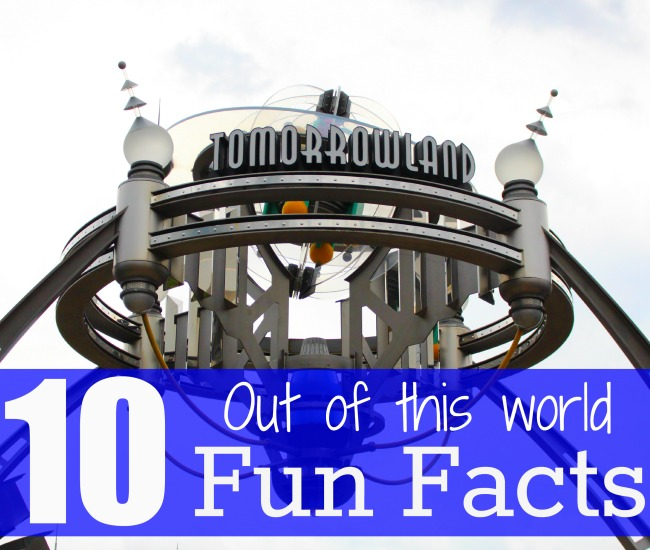 Disney world tomorrowland fun facts