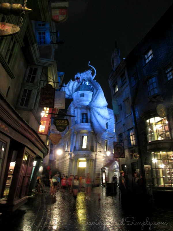 Harry potter fun facts Diagon alley