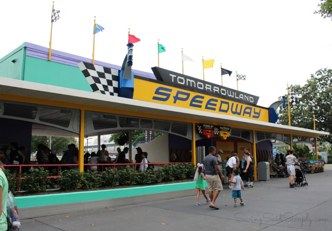 How fast is tomorrowland speedway