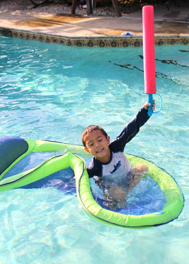 Pool noodle toy