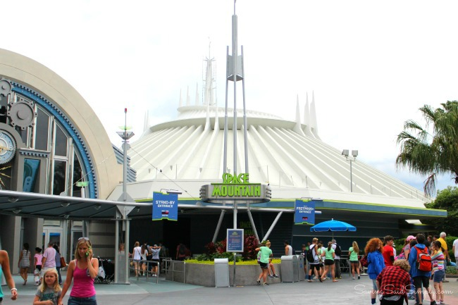 Space mountain fun facts