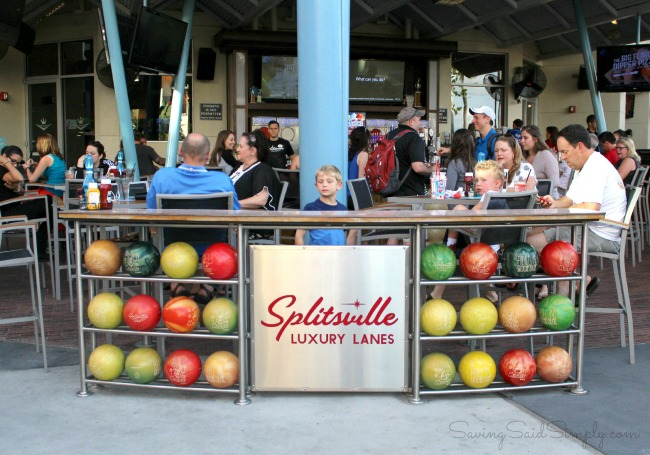 Splitsville luxury lanes Orlando