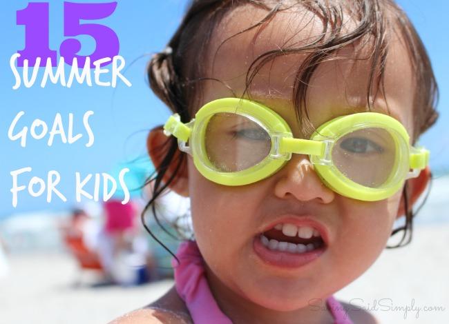 Summer goals for families