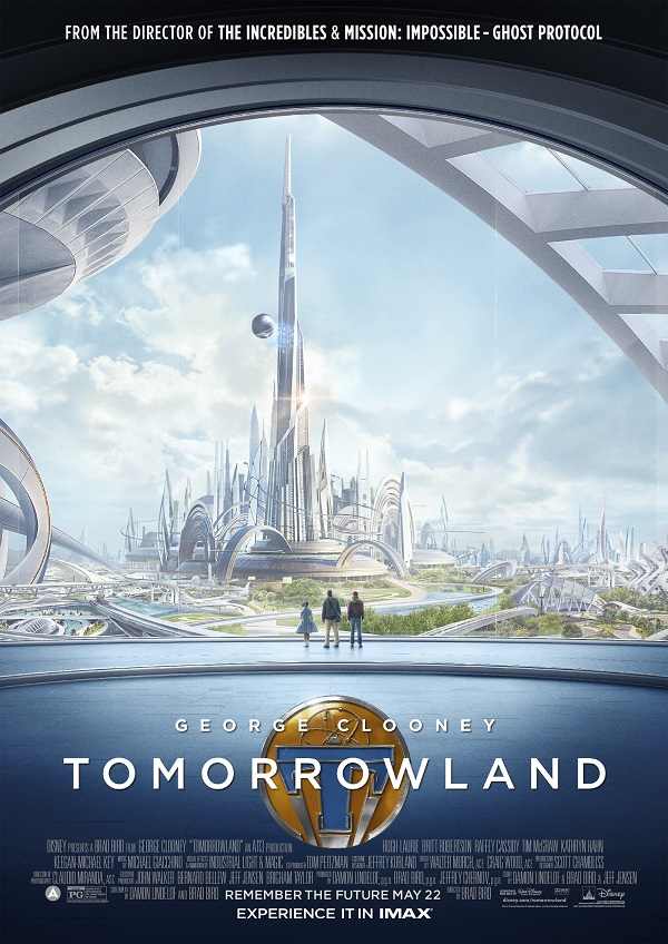 Tomorrowland movie compared to park