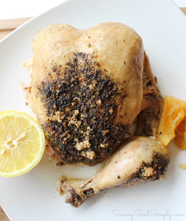 Citrus herb chicken recipe