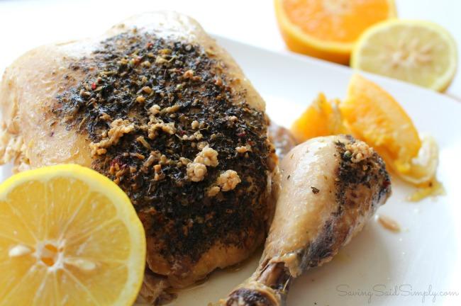 Crockpot whole chicken recipe