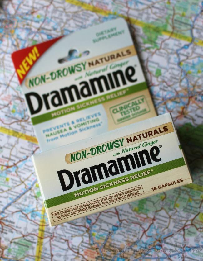 Dramamine non-drowsy naturals review