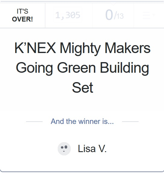 Knex mighty makers giveaway 7-15