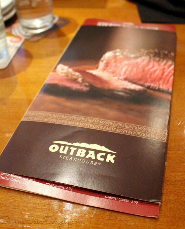 image about Outback Printable Menu named 5 Good reasons in the direction of Consume at Outback Steakhouse Kissimmee