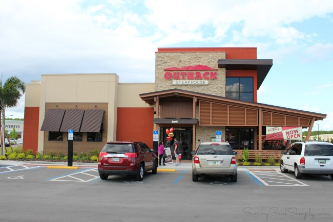 Reasons to eat at outback steakhouse kissimmee