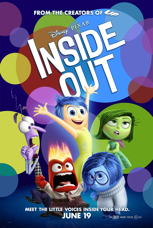 Pixar inside out movie review safe for kids