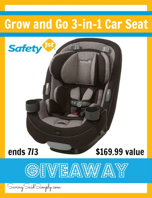 summer travel tips safety 1st grow and go 3 in 1 car seat. Black Bedroom Furniture Sets. Home Design Ideas