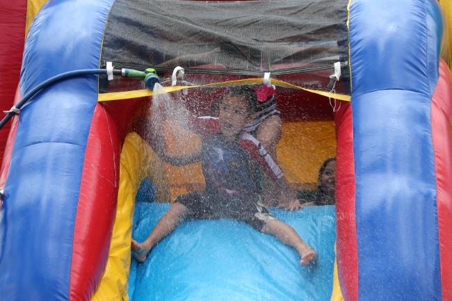 Summer water play fun