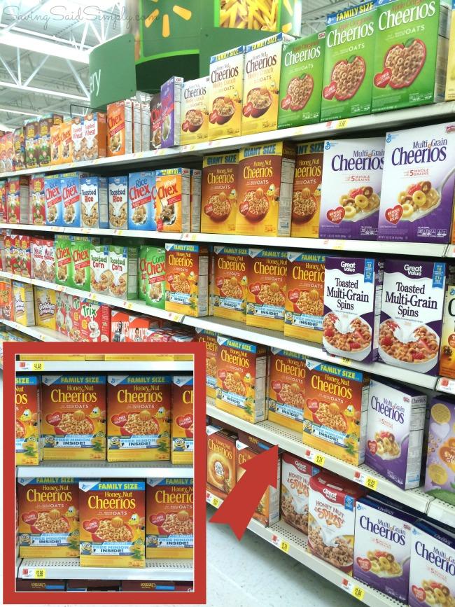 7th minion cereal Walmart