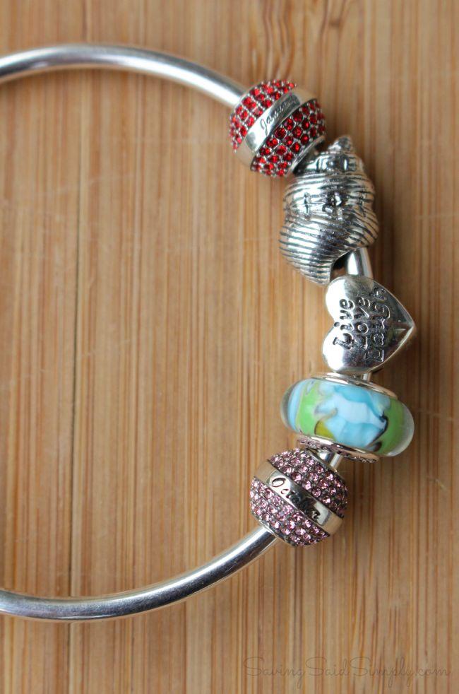 Affordable charm bracelet