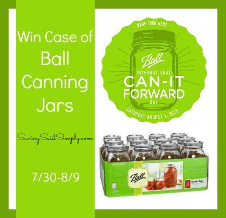 Ball canning giveaway canitforward