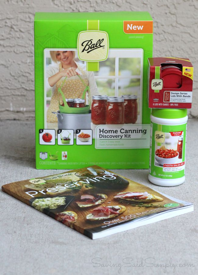 Easy Salsa Recipe for Can-It-Forward Day + Ball Brand Giveaway This easy salsa recipe is perfect for canning or for entertaining #EasyRecipe #Recipe #Canning #Salsa #Appetizer