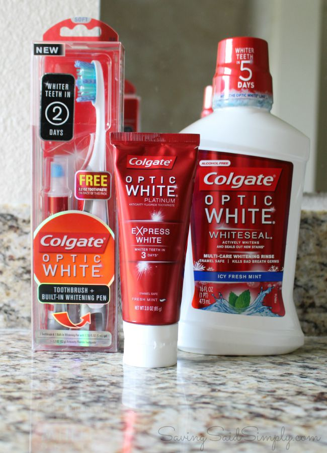 Tips For Whiter Teeth With Colgate Optic White
