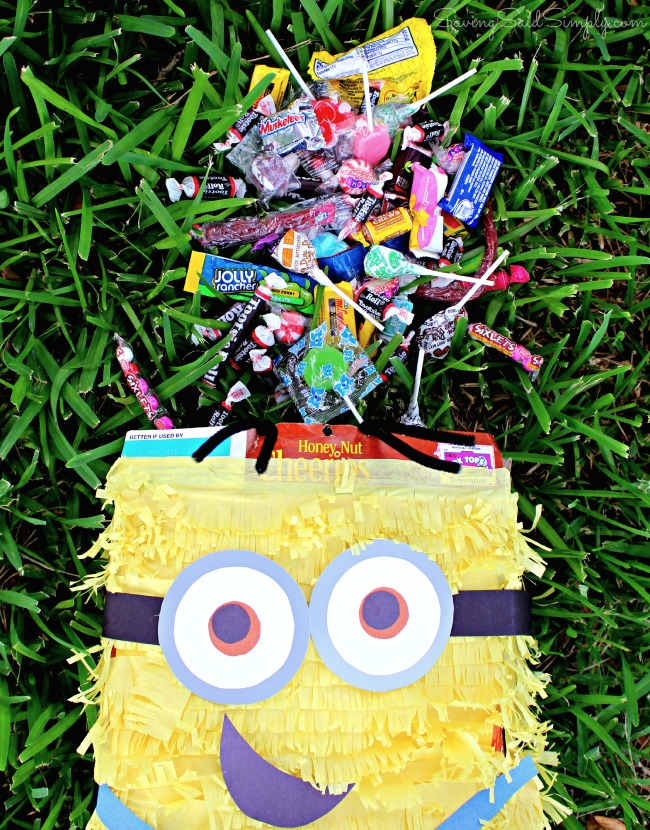 DIY despicable me pinata