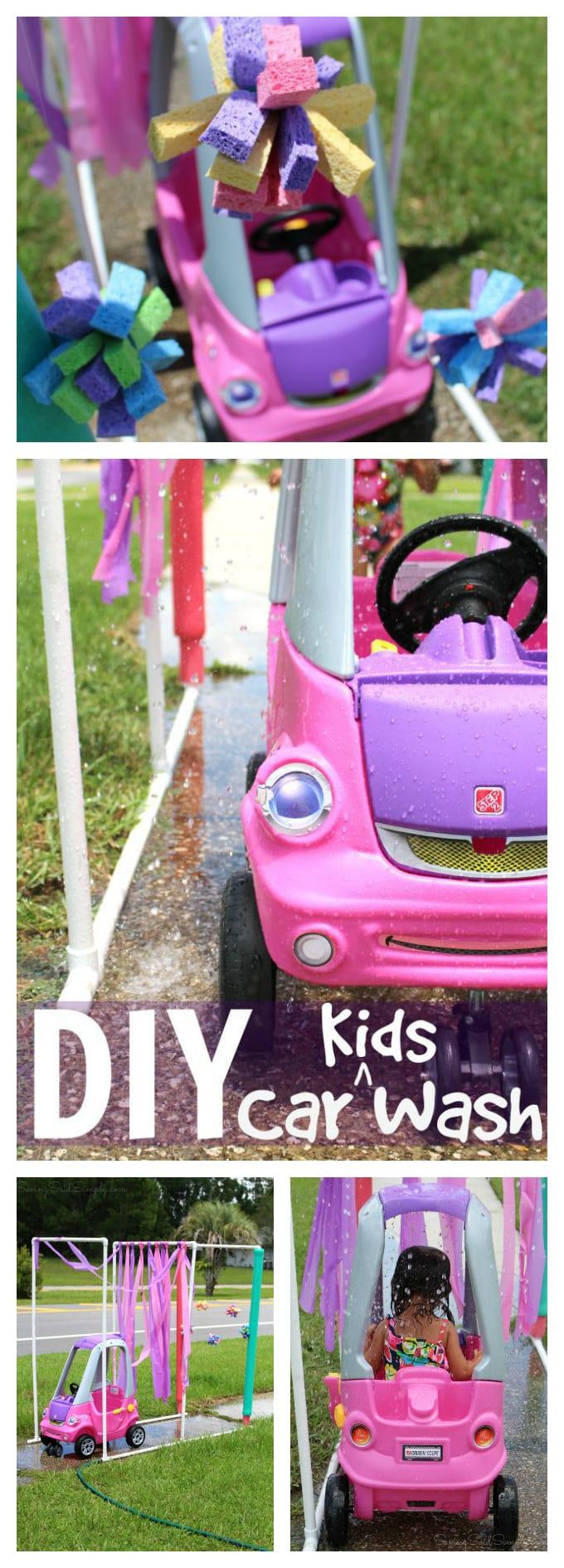DIY kid car wash pinterest