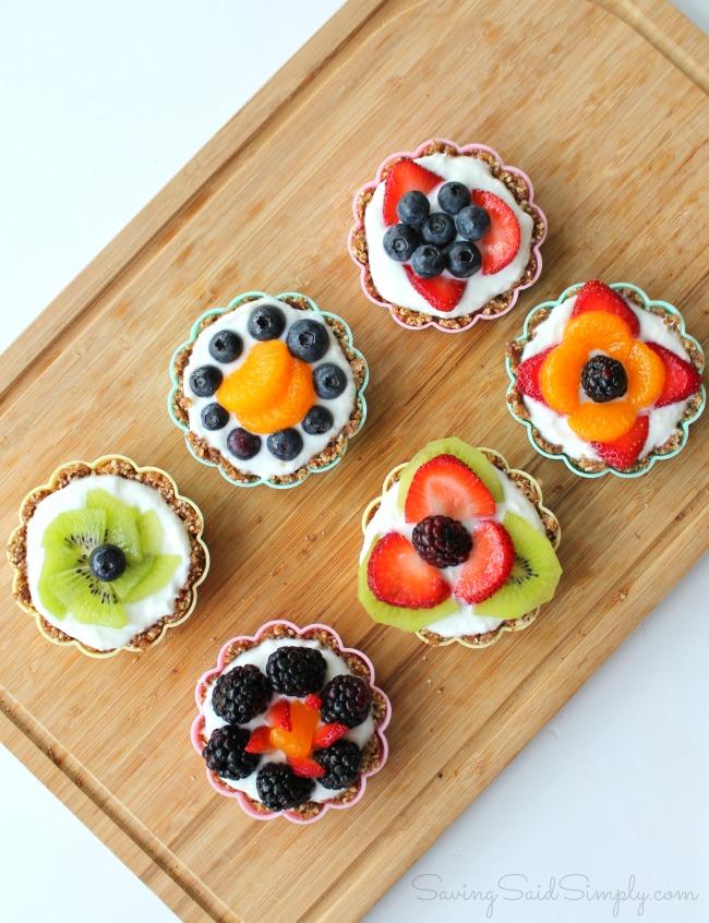 Fruit tart recipe easy