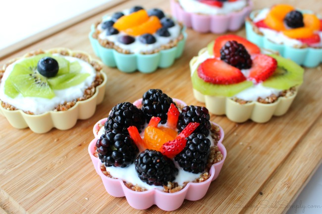 Mini fruit tarts recipe gluten free