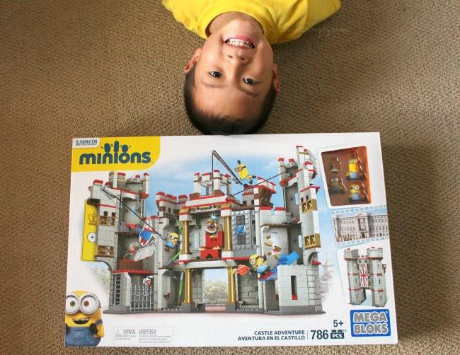 Mega Bloks Minions Castle Adventure Playset Review