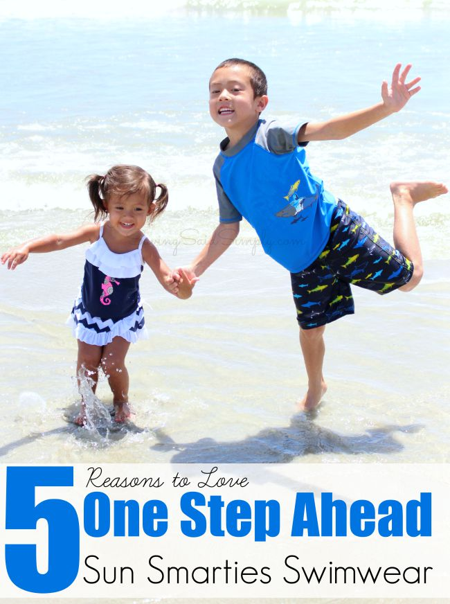 7e588d2941 5 Reasons to Love One Step Ahead Sun Smarties Swimwear + Giveaway