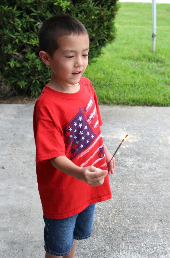 Sparklers kids