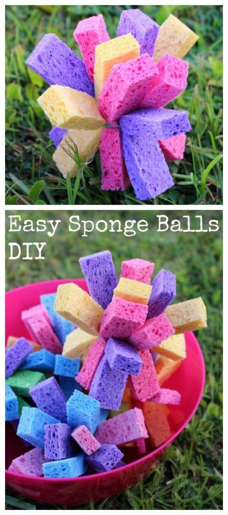 Sponge balls tutorial