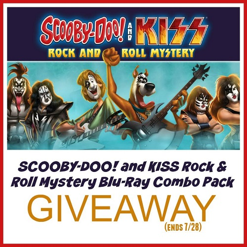 Scooby doo kiss bluray giveaway