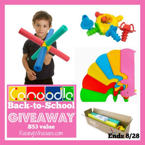 Canoodle back to school giveaway