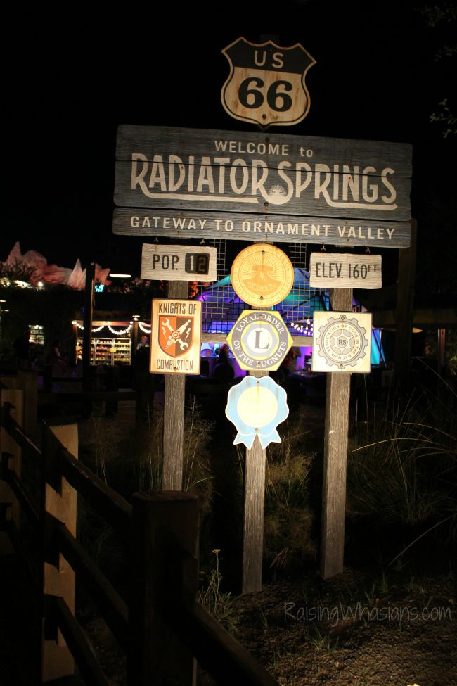 Cars land must sees