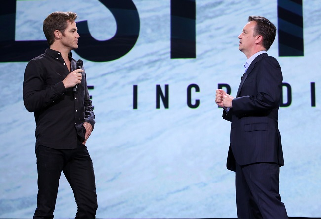 Chris pine d23 expo 2015
