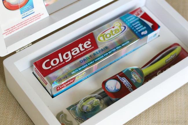 Colgate total daily repair kit