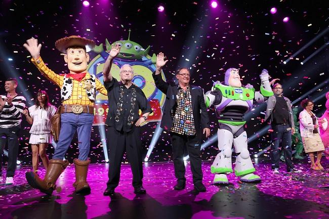 D23 expo Pixar Disney animation presentation recap