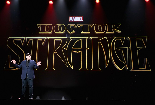 Dr strange movie d23 expo 2015