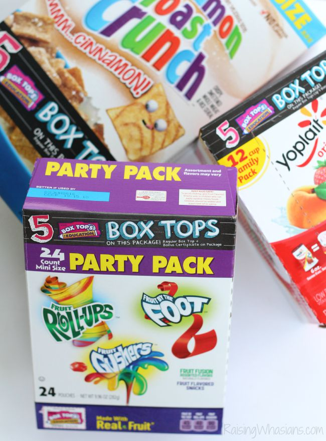 How to get bonus box tops
