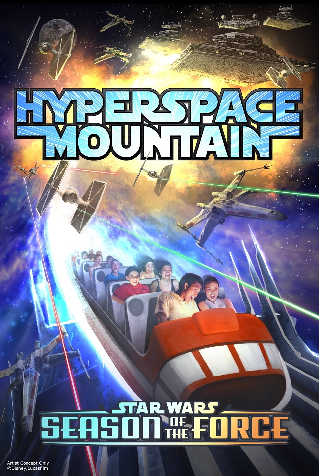 Hyperspace mountain star wars land