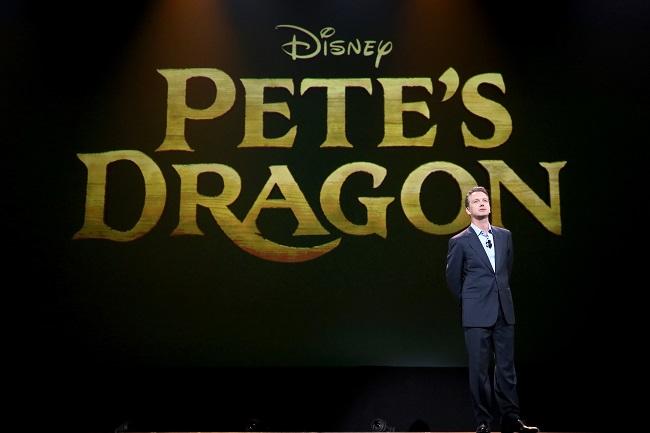 Petes dragon movie D23 expo 2015
