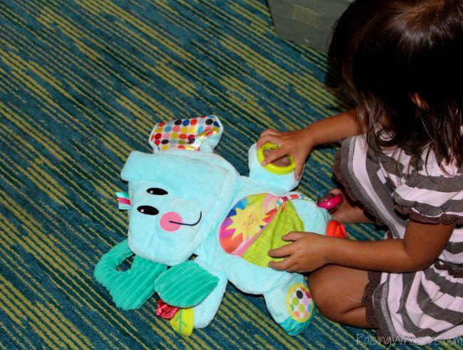 Playskool fold n go elephant