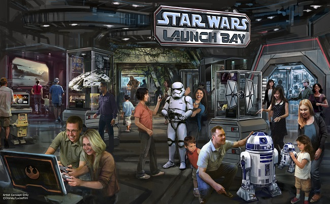 Star wars land Disney world