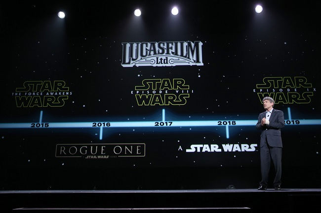 Starw ars movie update 2015 D23 expo