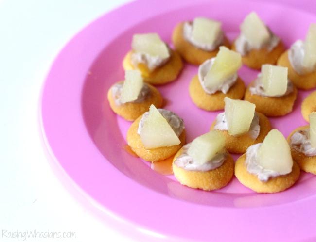 Toddler tea party snacks