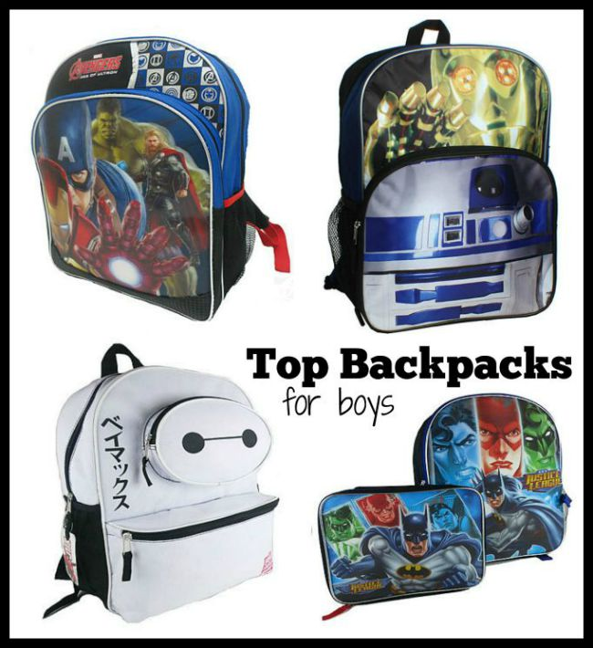Top backpacks for boys Kmart