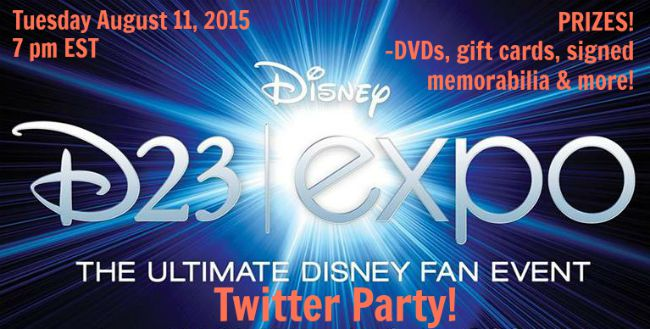 D23EXPO twitter party