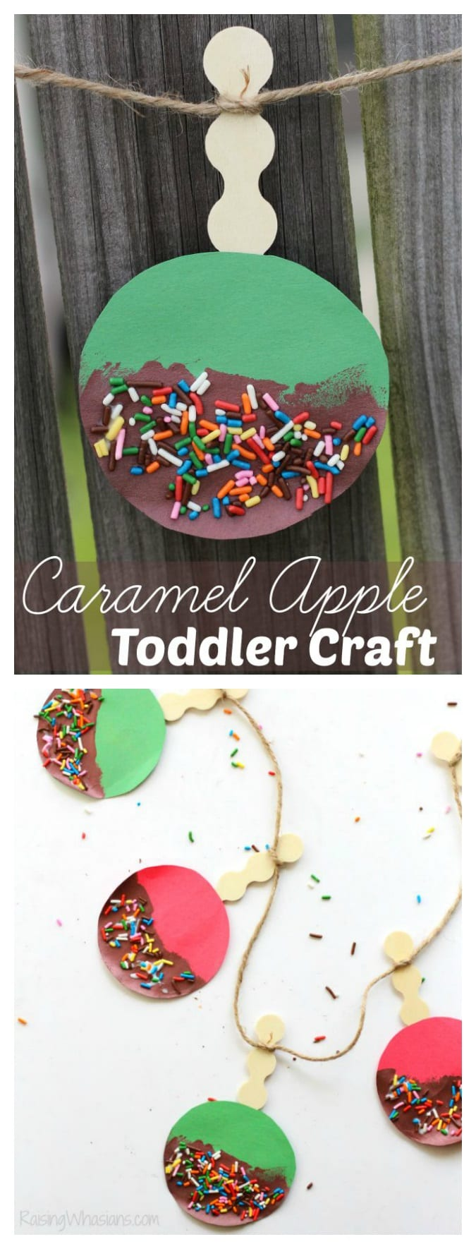 Caramel apple craft pinterest