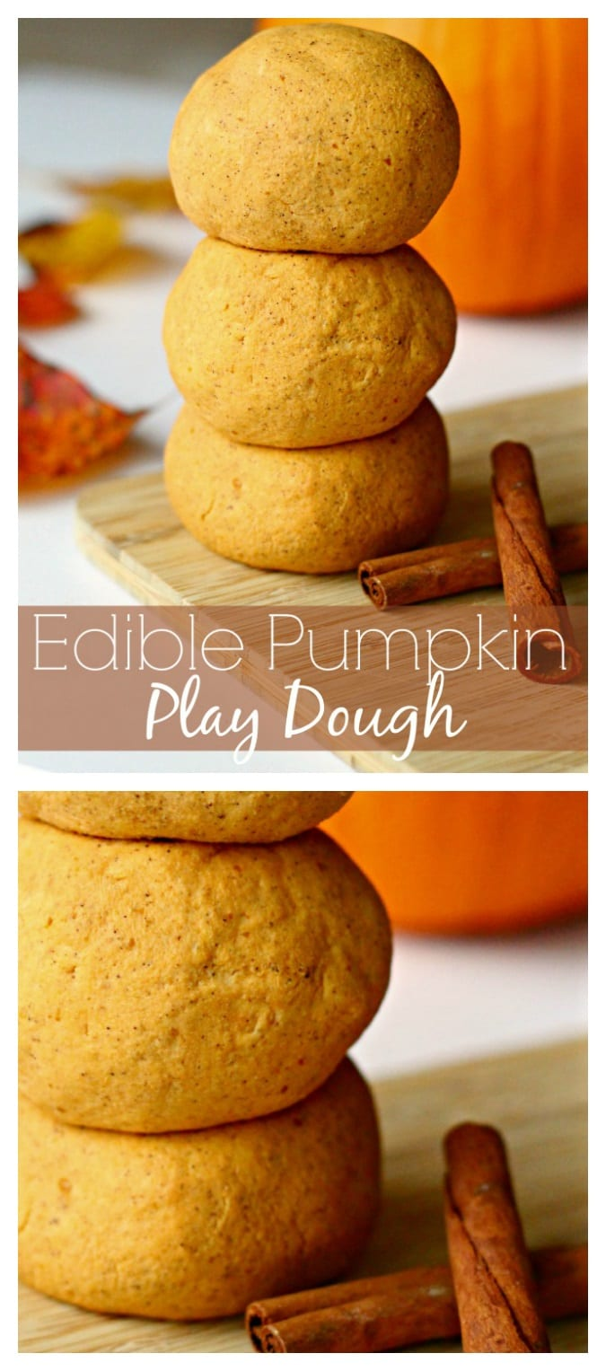 Edible pumpkin play dough pinterest